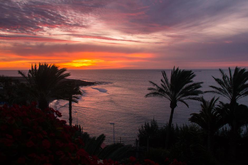 Sunset_ San Augustin beach