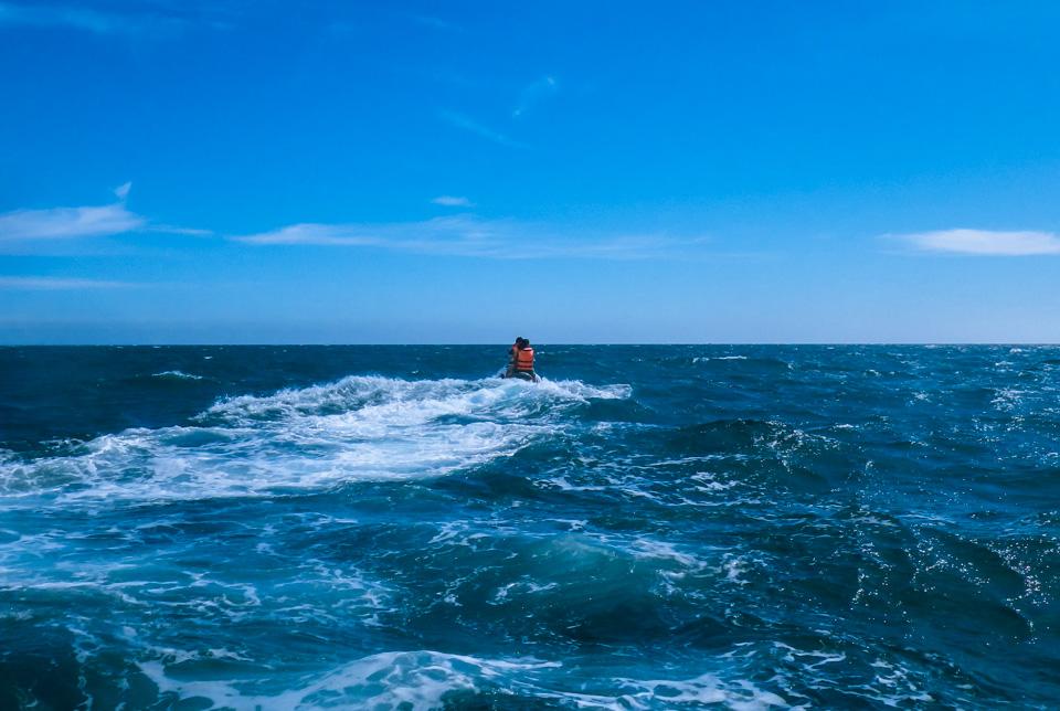 jetski in atlantic gran canaria