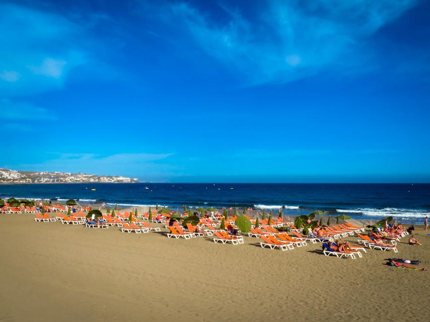 Playa de Inglise_gran canaria