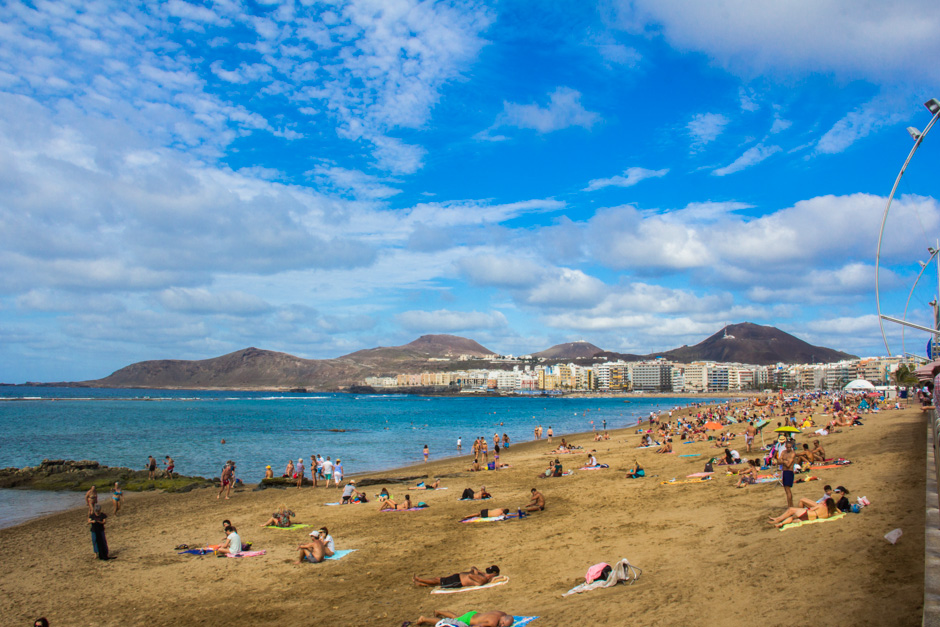 Playa de Las Canteras_Laspalmos_Gran Canaria