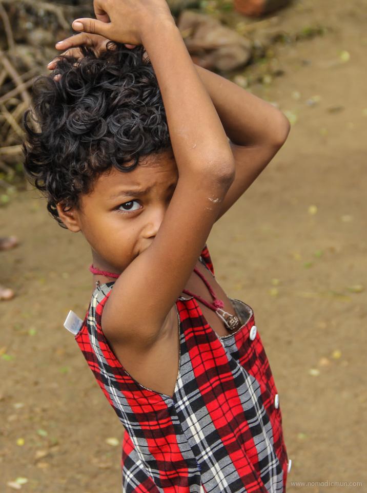 tribal kid purulia west bengal